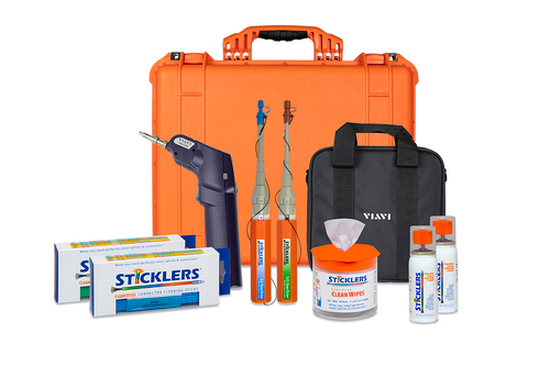 PFP Sticklers Fiber Optic Inspection & Cleaning Kit