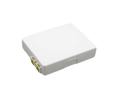 PFP-FWMT-124-LCUD PFP LC/UPC Duplex Indoor terminal applied FTTX network to connect the drop cable and ONU devices through fiber port. Capacity of 1core,2cores,4 cores and supports splicing, mechanical connection and FMC