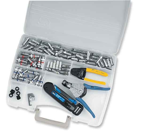 Ideal 33-630 Service Compression Kit, RG6 and RG59