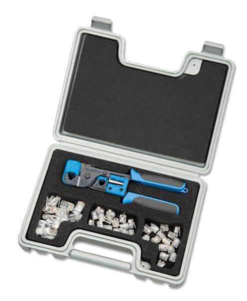 Ideal 33-704 Telemaster Kit w/ RJ11 & RJ45 Crimp Tool