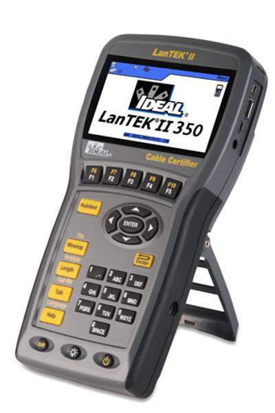 Ideal 33-991 LanTEK II-350 CAT6 Cable Certifier