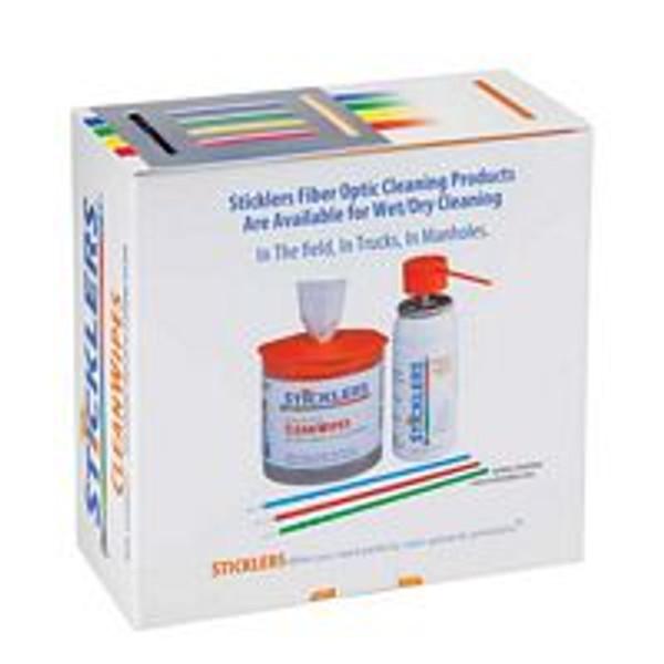 PFP Sticklers CleanWipes 3200 Fiber Optic Cleaning Wipes MCC-WCS800