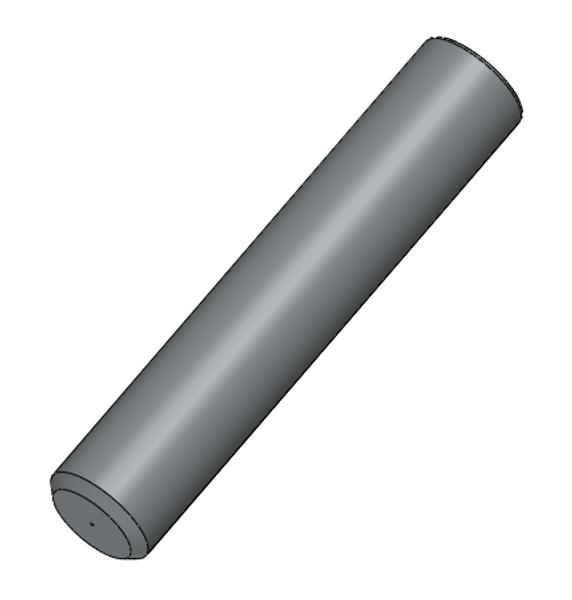PFP ST 2.5mm OD Multimode 303 Stainless Steel Ferrules, 126um
