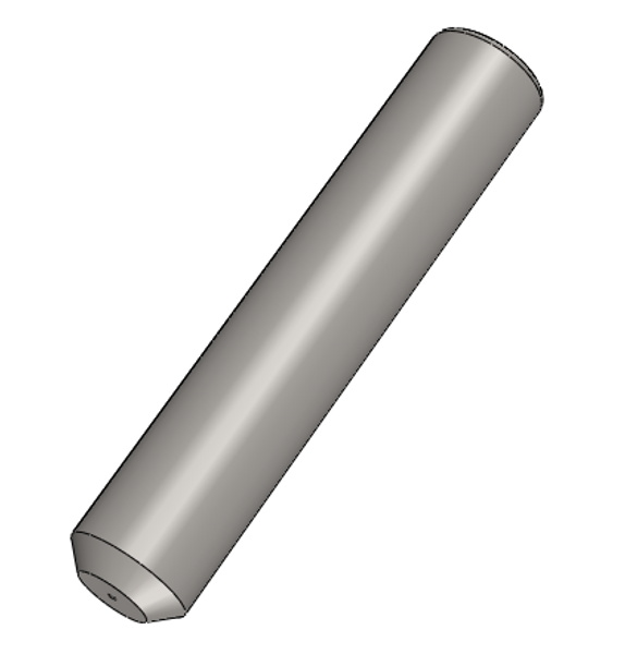 PFP LC 1.25mm OD Multimode 304 Stainless Ferrules