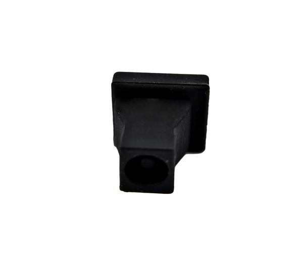 SC Adapter Dust Cap, Simplex, Black Rubber type
