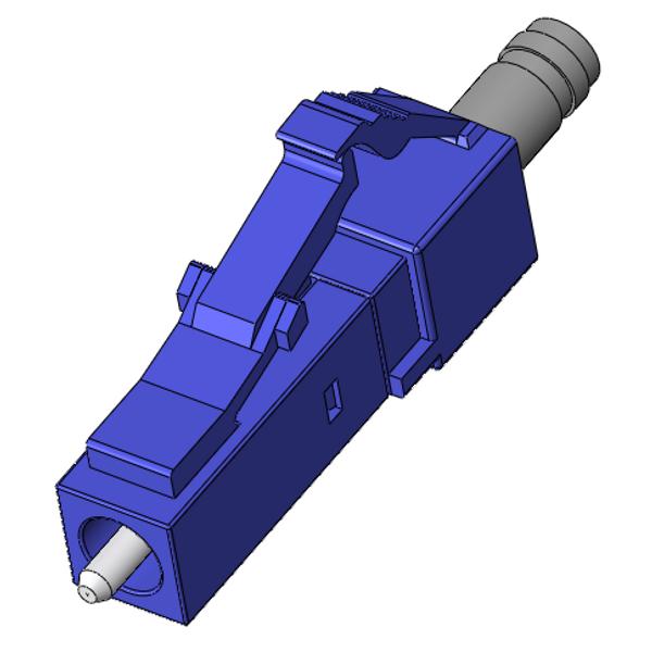 LC Singlemode Connectors, UPC