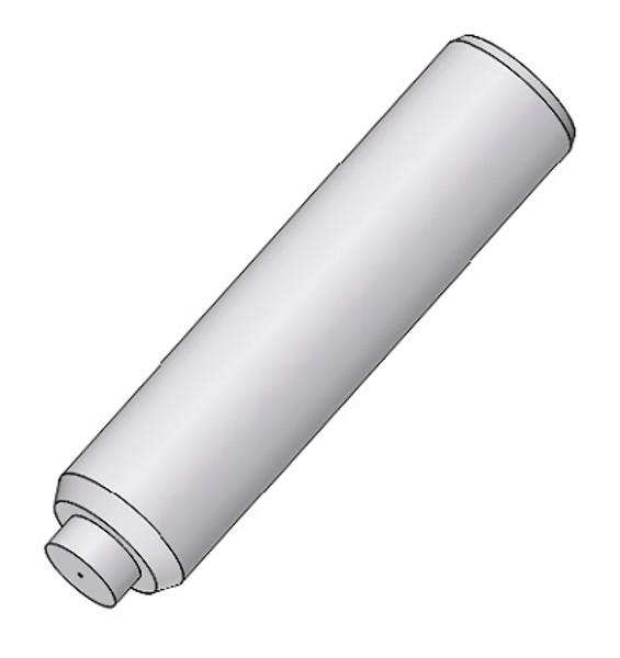 PFP 2.5mm OD SM SC/APC Ceramic Zirconia Ferrule Stick, ID Step Tip