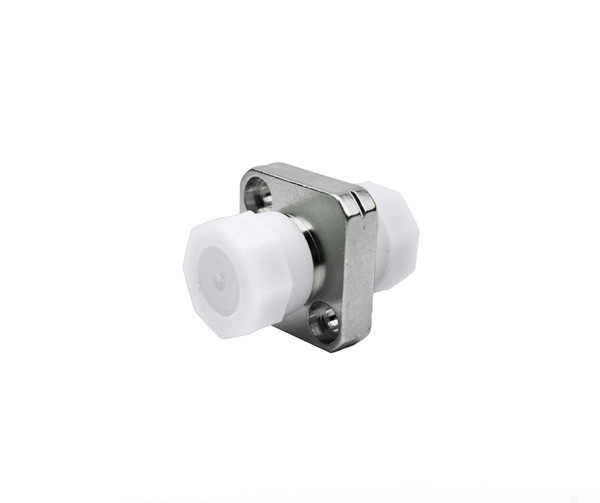 PFP SM FC - FC Adapter, Square Mount, 2.15 - 2.25mm Wide Key, White threaded Caps