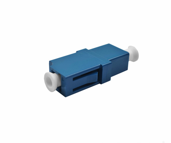 PFP LC Adapter Singlemode Simplex Blue Housing, Ceramic Zirconia Sleeve