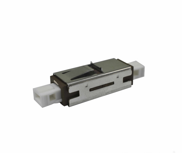 PFP MU Adapter Singlemode Simplex, Ceramic Zirconia Sleeve