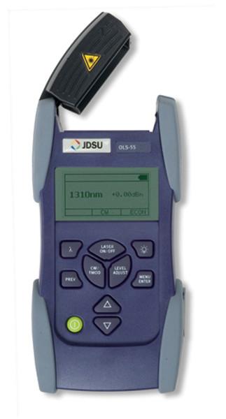 JDSU OLS-55 SmartClass Laser Light Source, SC, 1310/1550