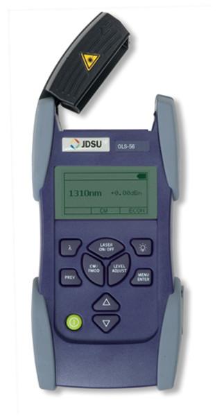 JDSU OLS-56 Fiber Optic SmartClass Laser Light Source, SC