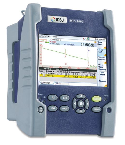 TB2-FCOMP2-FF JDSU Single Mode Bidirectional Loss Test Set
