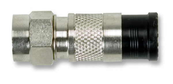 Ideal 89-106 RG6 Quad Compression F-Connector