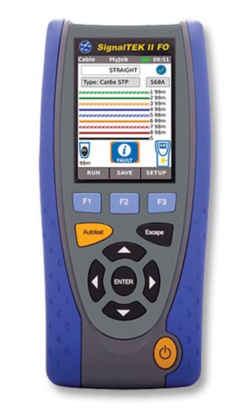 Ideal R156000 SignalTEK II Gigabit Copper Cable Qualifier