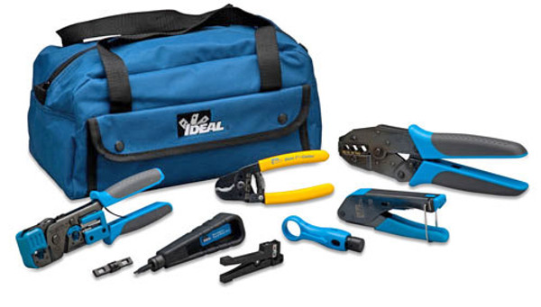 Ideal 33-920 Video/Data/Voice Basic MRO Tool Kit