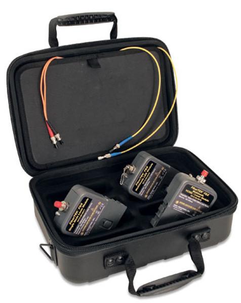 Ideal 33-990-FA04 FiberTEK FDX MM/SM Kit, LanTEK II