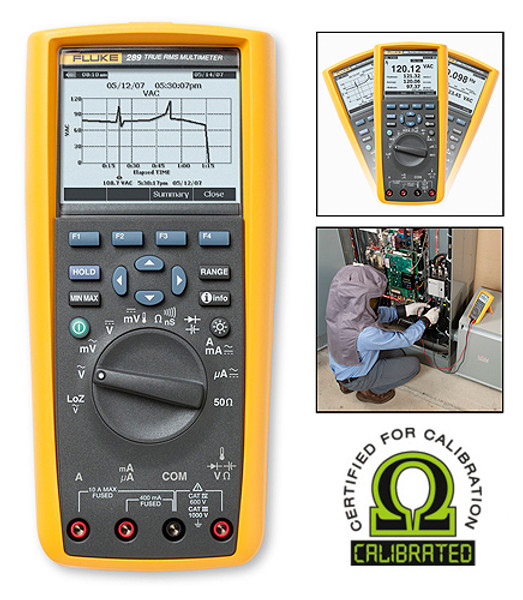 Fluke 289 True RMS Digital Logging Multimeter - Calibrated