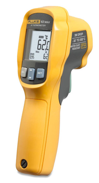 Fluke 62 MAX IR / Infrared Thermometer, -22 to 932 F