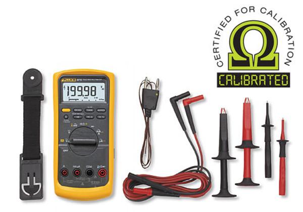 Fluke 87V/E2 True RMS Digital Multimeter Kit - Calibrated