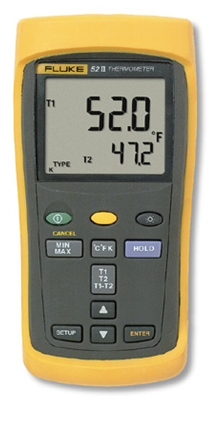 Fluke 52-2 Dual Input Digital Thermometer