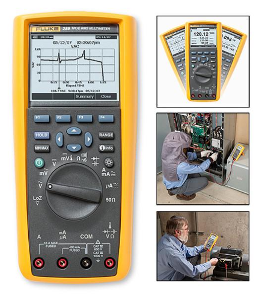 Fluke 289 True RMS Digital Multimeter Logging Multimeter