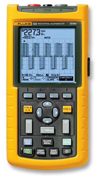 Fluke 123/003 Scopemeter 20MHz Oscilloscope - Calibrated