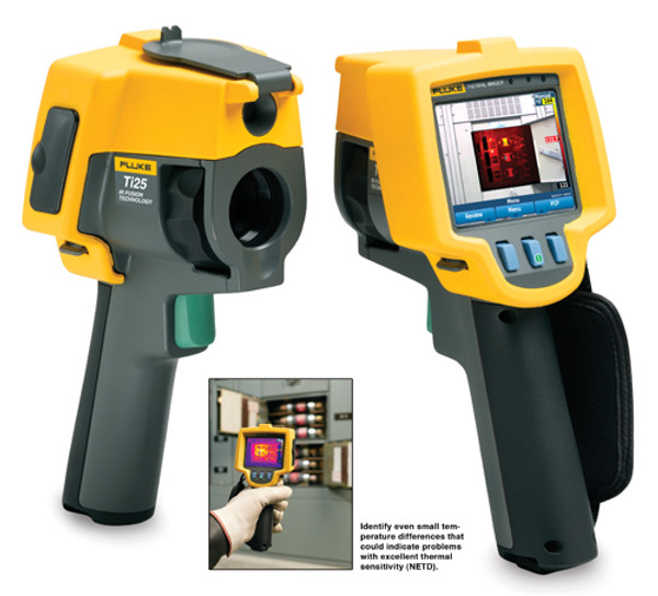 Fluke FLK-Ti25 9Hz Thermal Imager Infrared Camera