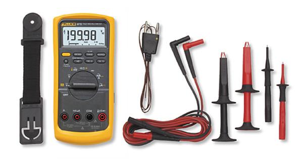 Fluke 87V/E2 True RMS Digital Multimeter & Industrial Combo Kit