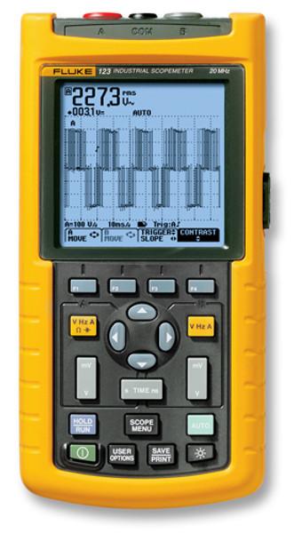 Fluke 123/003S Scopemeter 20MHz Oscilloscope Kit