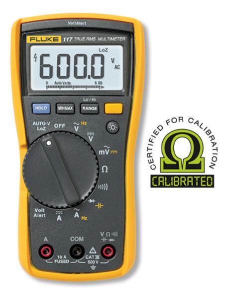 Fluke 117 True RMS Digital Multimeter - Calibrated