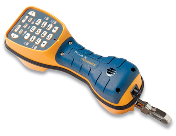 Fluke Networks 50801RJ9 TS44 Pro Test Set, ABN & RJ11 Plug Cord
