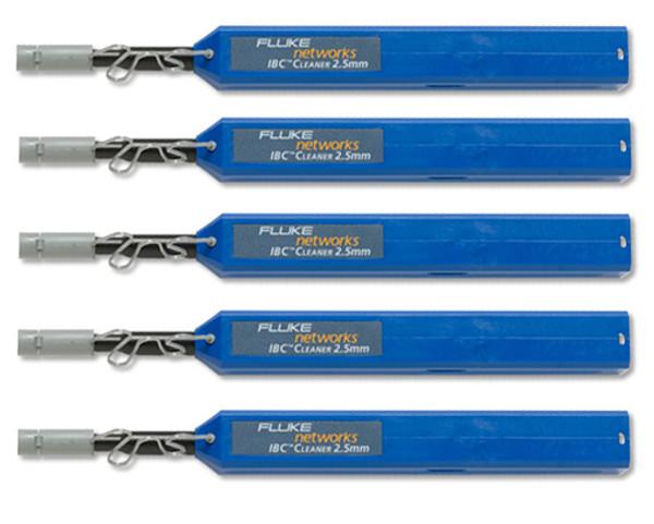 Fluke Networks NFC-IBC-2.5MM SC/FC/ST 2.5mm IBC Cleaner, 5-Pack