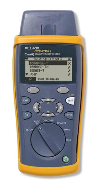 Fluke Networks CIQ-100 CableIQ Qualification Tester