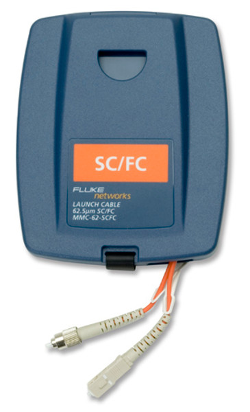 Fluke Networks MMC-62-SCFC Multimode SC/FC Launch Cable, 62.5um