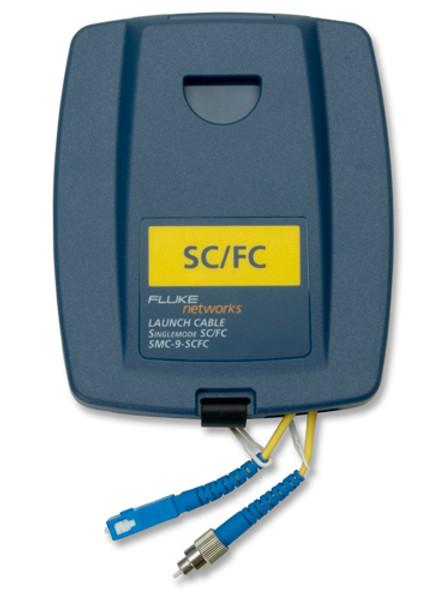 Fluke Networks SMC-9-SCFC Single Mode SC/FC Launch Cable, 9um