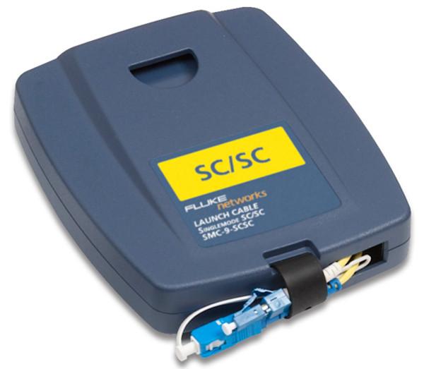 Fluke Networks SMC-9-SCSC Single Mode SC/SC Launch Cable, 9um