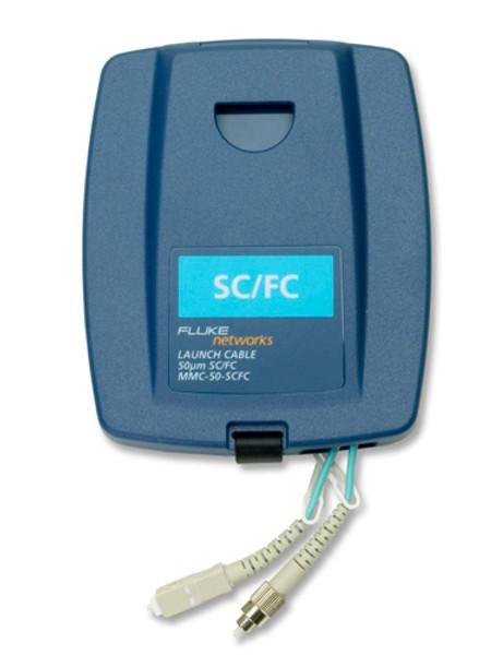 Fluke Networks MMC-50-SCFC Multimode SC/FC Launch Cable, 50um