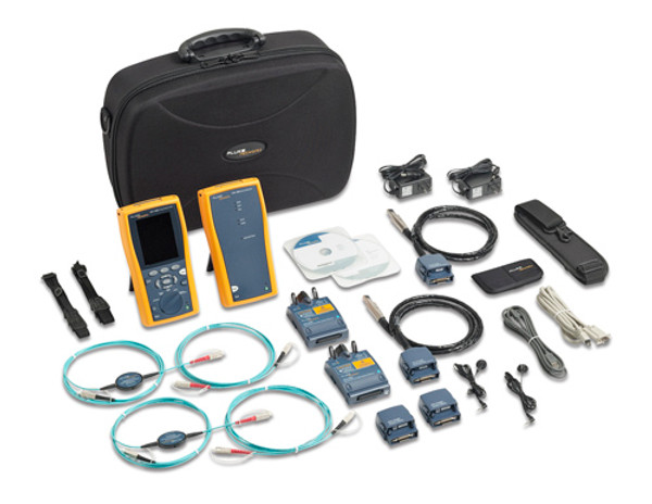 Fluke Networks DTX-1800-E-120 Cable Analyzer, 2 MM Fiber Modules
