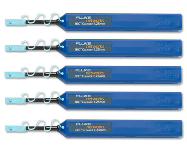 Fluke Networks NFC-IBC-1.25mm LC/MU 1.25mm IBC Cleaner, 5-Pack
