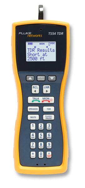 Fluke Networks TS54-BANA Test Set w/TDR & Banana/Alligator Cord