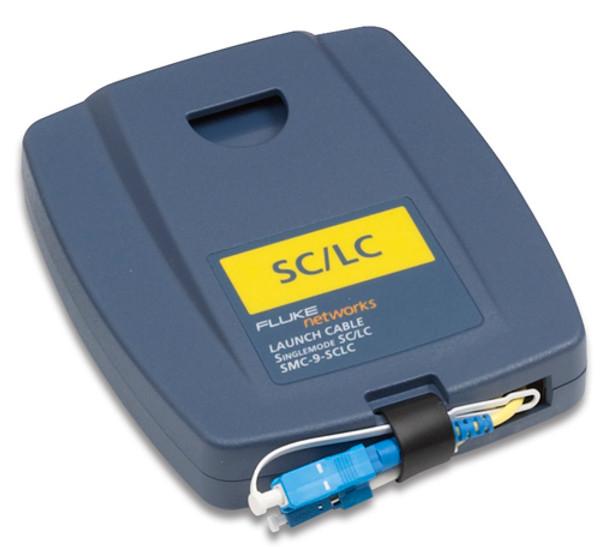 Fluke Networks SMC-9-SCLC Single Mode SC/LC Launch Cable, 9um