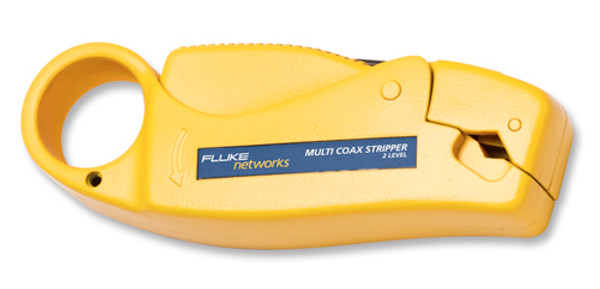 Fluke Networks 11231257 Coax Stripper, 2 Level, RG58/59 Cable