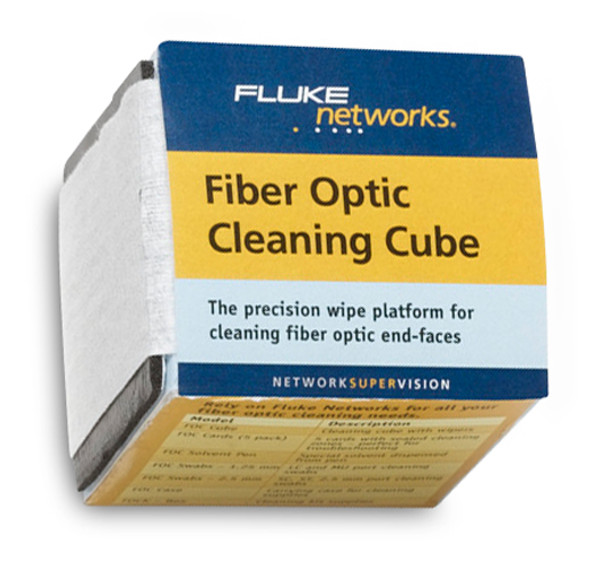 Fluke Networks NFC-CUBE Fiber Optic Cleaning Cube
