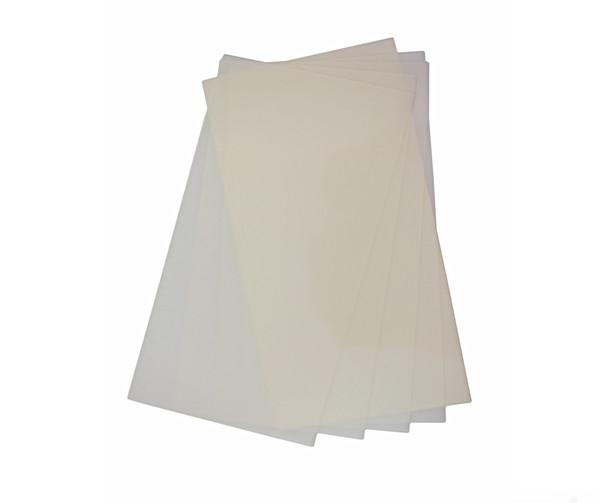 Miller PFAO.5 .5 Micron AL/Oxide Polishing Film - White, 10 Sheets