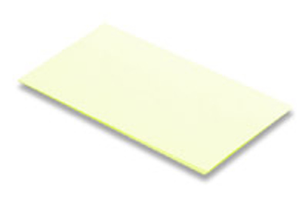 Miller PFAO-3 3 Micron AL/Oxide Polishing Film - Yellow, 10 Sheets