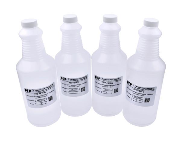 TechSpray Equivalent, Isopropyl Alcohol, 1 Gallon (4 Bottles)