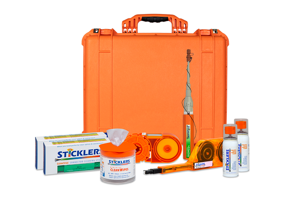 PFP Sticklers Fiber Optic Inspection & Cleaning Kits LC/MPO - NS
