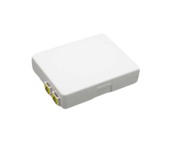 PFP-FWMT-124-LCAD PFP LC/APC Duplex Indoor terminal applied FTTX network to connect the drop cable and ONU devices through fiber port. Capacity of 1core,2cores,4 cores and supports splicing, mechanical connection and FMC