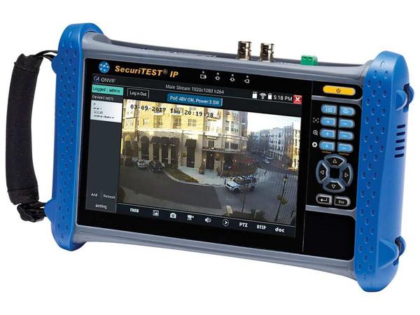 PFP CCTV Camera Tester for IP Digital/HD Coax/Analog Systems